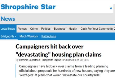 Devastating housing plan claims